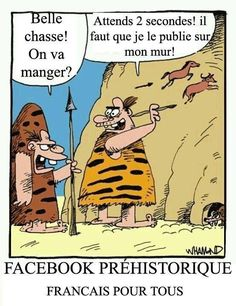 Prehistoric Facebook