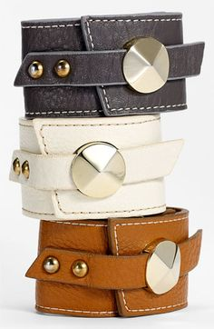 Leather Wrap Cuff