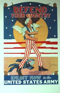 great graphic, 1940 by Tom Woodburn  Stars & stripes