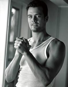 Josh Duhamel- one of the many good things that came from North Dakota :)