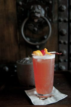 Singapore Sling cocktail recipe at http://theboysclub.net