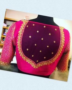Lehenga Designs, Kurta Designs, Silk Saree Blouse Designs, Blouse Back Neck Designs, Fancy Blouse Designs, Bridal Blouse Designs, Saris, Vintage India, Fashion Weeks