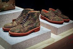 Camo Project Wooster  Camo isn't going anywhere. If anything, we're just getting started. Brands including Nepenthes, Leffot, Orlebar Brown, Maharishi, Dr Romanelli, Globe-trotter, Want Les Essentials de la Vie, Hamilton 1883 and The White Briefs all showcased excellent camouflage goods at PROJECT Wooster, many in collaboration with the king of camo himself, Mr. Nick Wooster. Browse our gallery to see the 10 best camo items we saw in Las Vegas. If you ask us, the couches win 1st prize.