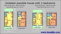 flat roofed tiny house free plans | HDB floor plan , BTO flats, EC, house plans , design services, etc ...