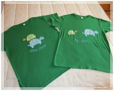 Camiseta con aplicaciones (I)