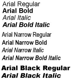 Arial font family.
