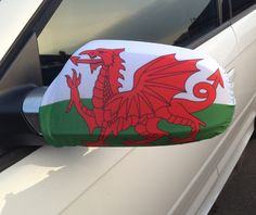 Our Wales Car Mirror Flag is the perfect addition to your car so that you can fly your colours! So if your feeling patriotic, buy your flag and hold it high!