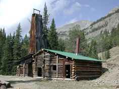 Tumlin Mineshaft in the historic mining town of Kirwin, WY