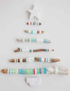 Driftwood christmas tree From boat pele vintage blog