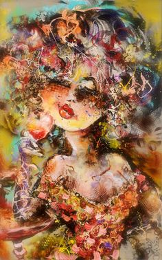 Werk van Guy Olivier. Schilderijen, tekeningen en objects trouvé