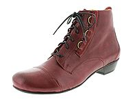 BRAKO BRK 725 Bem 6455-rock-tinto Damen Boots dunkel-rot