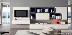 Composizioni soggiorno con moduli posizionabili a piacere in armonia tra loro - REPLAY BOX - DIOTTI A&F Arredamenti