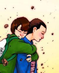 Resultado de imagen para mike and eleven kiss season 2 wallpaper