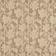Wildon Home® Embroidered Floral Fabric Color: Beige Velvet Upholstery Fabric, Fabric Ottoman, Ikat Fabric, Pillow Fabric, Jacquard Fabric, Floral Fabric, Fabric Flowers, Chinoiserie Motifs, Faux Suede Fabric