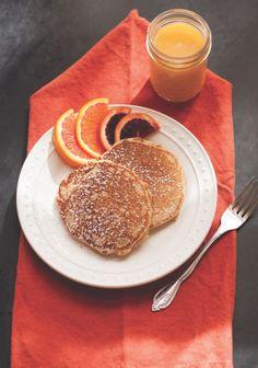 Whole Wheat Yogurt Pancakes | Edible Feast via Edible Santa Fe #ediblekitchen