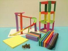 """Ontdekplek.nl - 50 werkbladen met """"techniek"""" als thema - voor kinderen van 4 tot 12 jaar. Primary Education, Primary School, Art Education, School Projects, Projects For Kids, Diy For Kids, School Info, Montessori Math, Kid Experiments"""