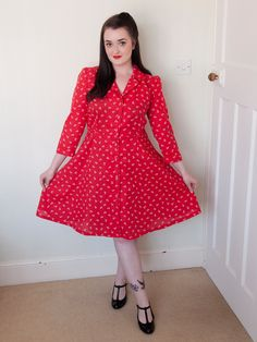 The Crafty Pinup - Sew Over It Vintage Shirt Dress