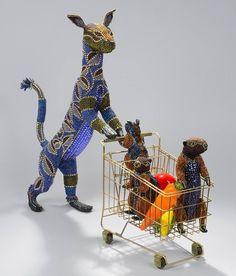Декорированные бисером фигурки животных от Nancy Josephson. Обсуждение на LiveInternet - Российский Сервис Онлайн-Дневников