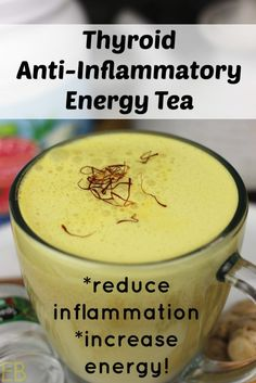 Thyroid Anti-Inflammatory Energy Tea. Omit black pepper and butter for AIP.