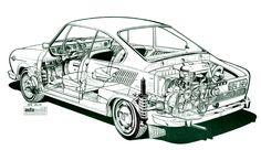 Skoda S110R 1971 002 :: Fotkica.com Car Tattoos, Old Cars, Vintage Cars, Classic Cars, Automobile, Trucks, Vehicles, Cars, Motorbikes