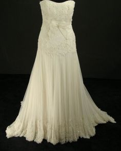 Image detail for -New Melissa Sweet strapless dress : wedding dress ivory melissa sweet ...
