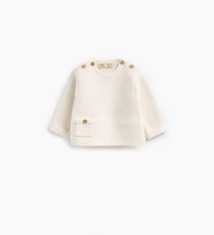 Basic sweater with pocket-COLLECTION-MINI | 0-12 months-COLLECTION AW16 | ZARA United States
