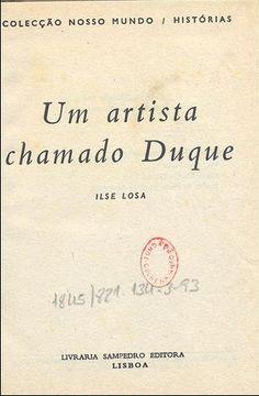 Capa da 1 edio de o mundo em que vivi ilse losa 1949 porto lisbon duke artist fandeluxe Choice Image