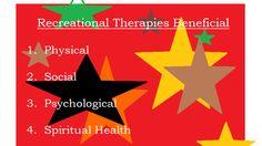 Recreational Therapies