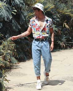 Vintage Summer Outfits, Summer Outfits Men, Stylish Mens Outfits, Retro Outfits, Gym Outfits, 80s Style Outfits, Hipster Outfits Men, Men Summer, Style Summer