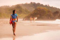 After surf.   #Sunset #Beach #CostaRica #Surf