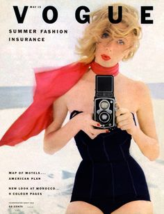 Vogue, May 15, 1952. Art Directed by Alexander Liberman and Priscilla Peck. Photographer Irving Penn. Conde Nast..