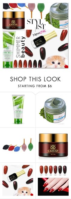 """""""Newchic"""" by fatimka-becirovic ❤ liked on Polyvore featuring beauty"""