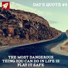 Eine absolute Sicherheit wird es nicht geben! Nutzt eure Chancen kalkuliert die Risiken so gut es geht und startet durch.  www.juststartup.de - Holt euch neben einem Gründernetzwerk nützliche Informationen zum Thema Gründung und der StartUpSzene . #daysquote #entrepreneur #business #mindset #startup #startuplife #youngentrepreneur #entrepreneurship  #businesslife #success #businessowner #juststartup #fact #quote #factoftheday #change #beyourownboss #goals #lifegoals #comment4comment…