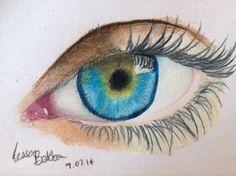 Eye drawing ❤️
