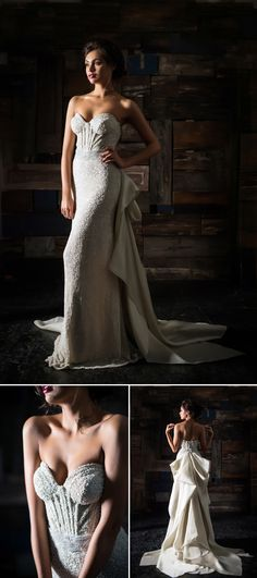 Come see what's new in the Junebug Wedding Dress Gallery! The Spring 2014 Bridal Collection by #CarolHannah is stunning!   via junebugweddings.com