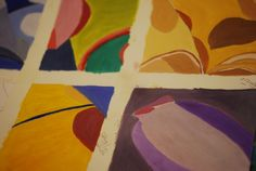 Abstract Art and still life at Faux Arts, Pewsey, Wiltshire