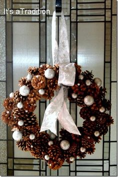 35 DIY winter wreaths