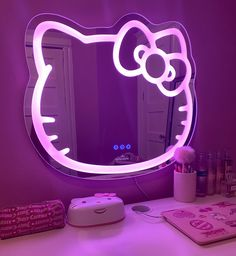 Room Ideas Bedroom, Bedroom Decor, Cute Room Decor, Led Mirror, Room Goals, Room Setup, Aesthetic Room Decor, Beauty Room, Dream Rooms