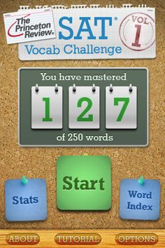 I've got to increase my vocab to above that of a five-year-old!