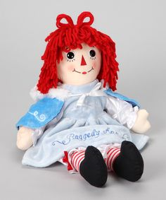 Take a look at this Chilly Chic Raggedy Ann Doll on zulily today!