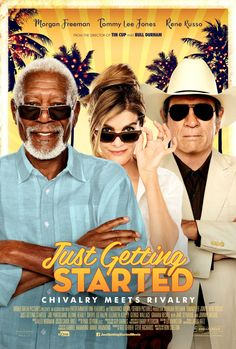 Get ready to enjoy this friday with newly released  movie just getting started. This movie make your day wonderful. Movie is directed and written by Ron Shelton.