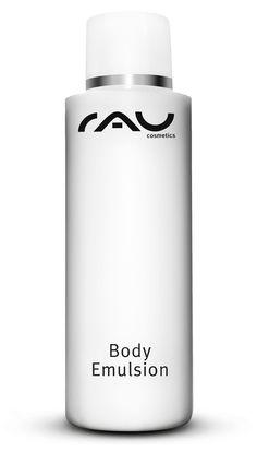 Unsere RAU Body Emulsion ist die reichhaltige Luxuspflege für den ganzen Körper. Diese wunderbar reichhaltige und wohl duftende Körperemulsion mit wertvollem Mandelöl und einem exklusiven Wirkstoffkomplex, unter anderem bestehend aus weissem Tee, AloeVera und Sorbitol eignet optimal für die Pflege des Körpers. Reichhaltig und doch zart fliessend zieht unsere Body Emulsion schnell ein und hilft der Haut, ihr Feuchtigkeitsgleichgewicht wieder herzustellen. Nach der Anwendung ...