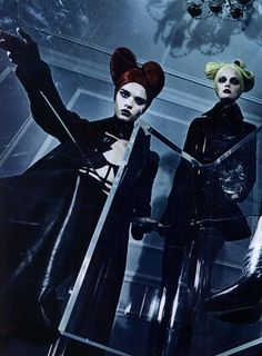 Steven Klein, Vogue Italia Editorial A Point of View, September 2011 Shot #13