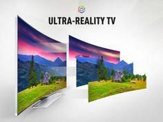 Samsung Curved Ultra HD UHD TV
