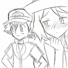 When Serena wants to ask Ash to the dance but Bonnie offers up Clemont ... #amourshipping