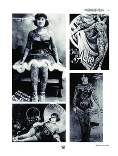 Tattooed circus ladys from the Lexicon. The full Lexicon is available at our website and off course for sale at our (web)shop.