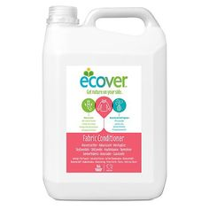 With a fresh, floral fragrance from plant based ingredients, this fabric softener from Ecover will naturally soften and freshen your laundry, making ironing. Small Plastic Bottles, Conditioner, Best Vacuum, Septic Tank, Household Cleaners, Fabric Softener, Green Cleaning, Biodegradable Products, Cleaning