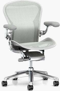 Fulton Market, Herman Miller Aeron Chair, Chest Opening, Best Office Chair, Office Chairs, Office Setup, Desk Chairs, Office Furniture, Office Desk