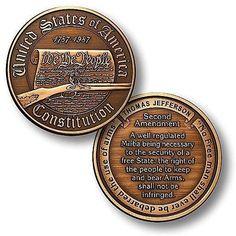 Constitution - Second Amendment Challenge Coin