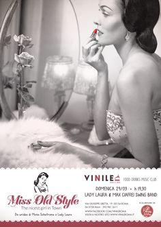Miss Old Style - domenica 29 marzo 2015 - Vinile, via Libetta 19, Roma